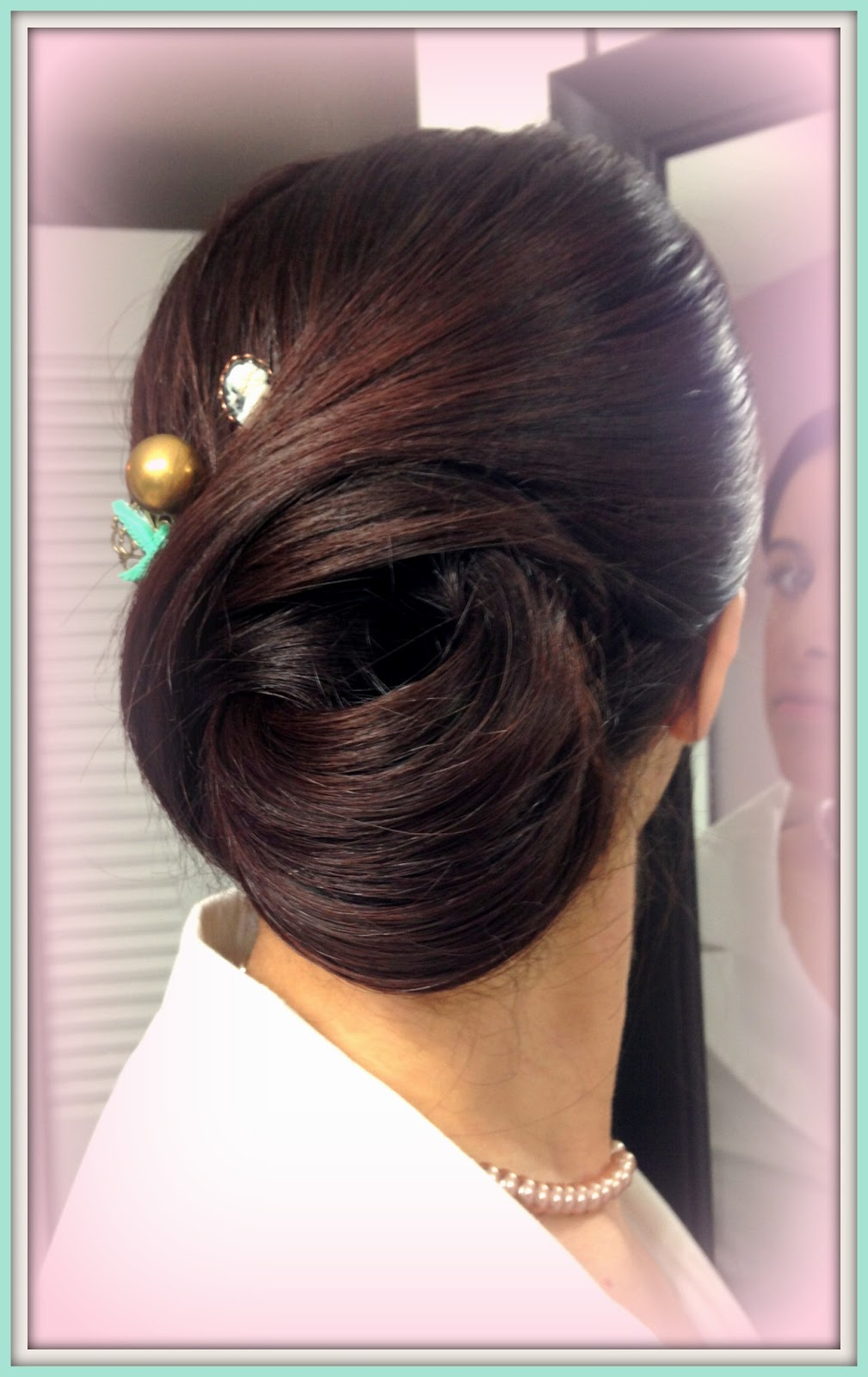 professional hair styles for hair adorned faces makeup vintage swirls updo 1659