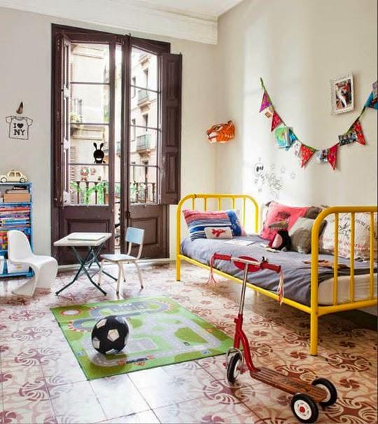 paris child bedroom