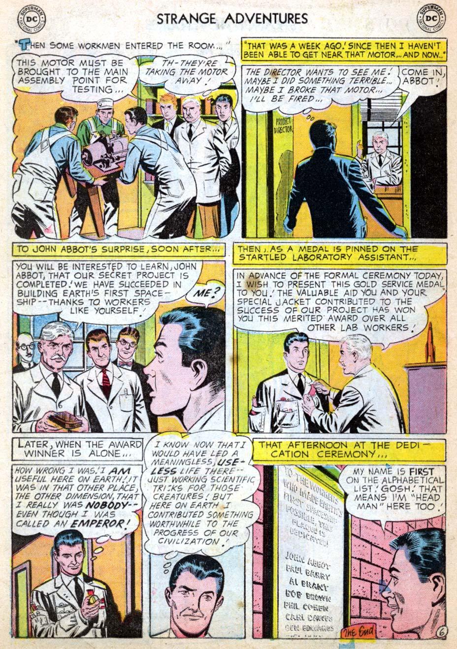 Strange Adventures (1950) issue 62 - Page 16