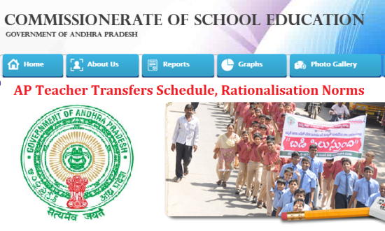 AP Teacher Rationalisation Norms Transfers 2017 Schedule Online Application Form web baed Options Couselling Allotment Orders Download @cse.ap.gov.in | Andhra Pradesh Teachers Rationalisation 2017 Norms Download | Proposed Guidelines for AP Teacher Transfers 2017 Download | Schedule for Teacher Transfers Apply Online Web Options Online Counselling allotment of Orders Download from Official Website http://cse.ap.gov.in | Online Application Form available at School Education Department Commissioner School Education Dept Andhr Pradesh | Rationalination Norms for Primary Upper Primary High School Teachers Schedule for AP Teacher Transfers | Proposed norms for Teacher Transfers 2017 ap-teacher-rationalisation-transfers-schedule-online-application-form-web-options-based-counselling-allotment-orders-download-cse.ap.gov.in
