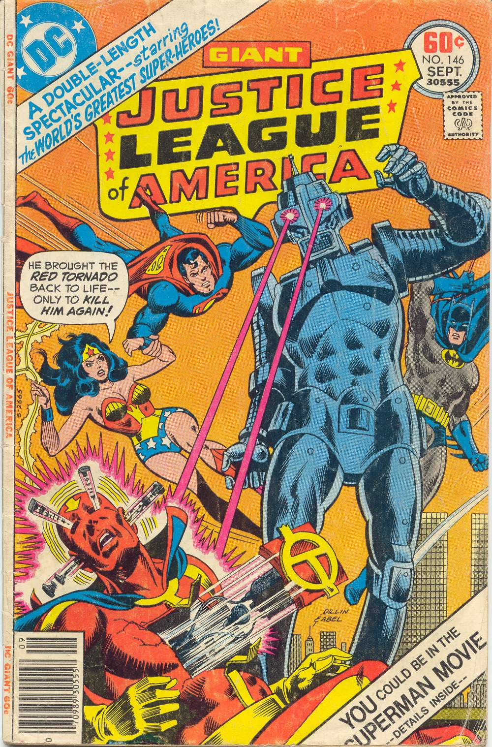 Justice League of America (1960) 146 Page 1