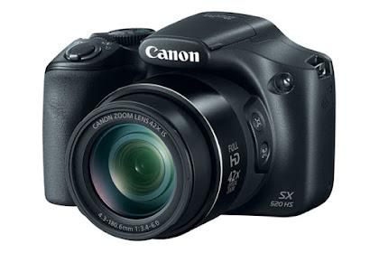 Canon PowerShot SX520 HS Driver Download Windows, Mac