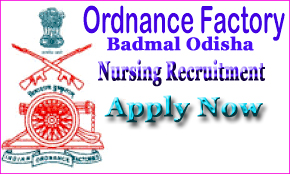 Defence jobs,Recruitment, Army jobs, central Govt, Jobs, Notification, Ordinance Factory, Milatory jobs, Odisha, Badmal, bolongir,Latest govt Jobs, Walk in Interveiw