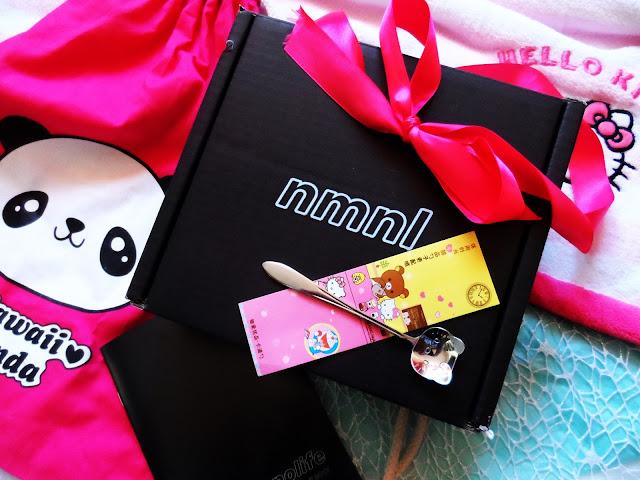 NMNL - box prosto z Japonii z Japońskimi kosmetykami .