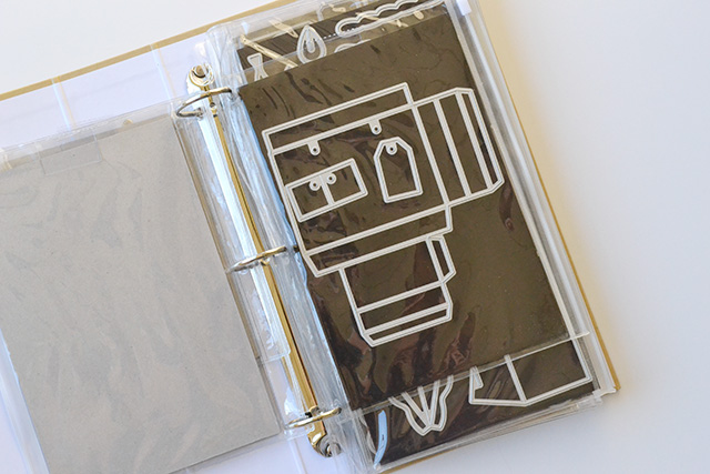 Aly Dosdall We R Memory Keepers Thin Metal Die Storage Binder