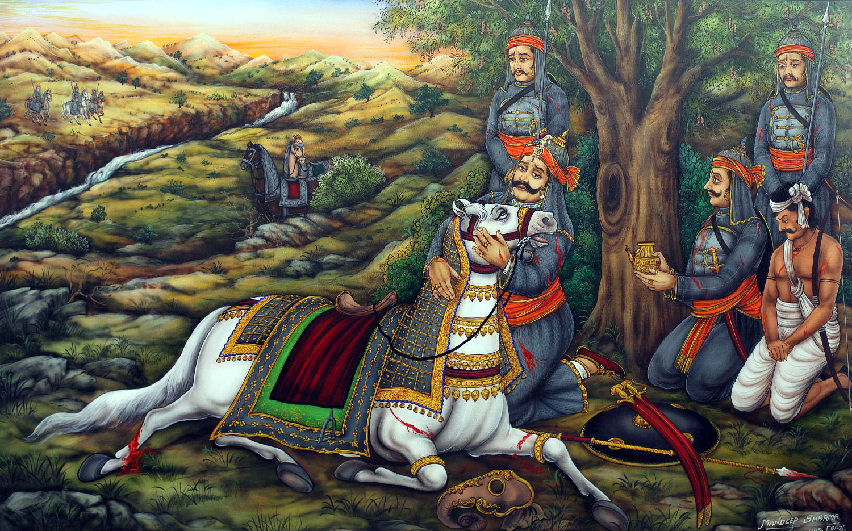 Shivaji Raje 3d Wallpaper Maharana Pratap The Bravest Of The Brave