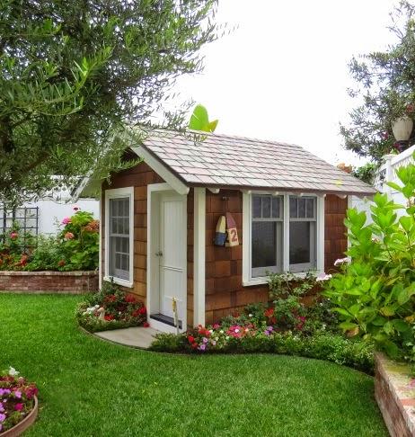 nautical garden shed