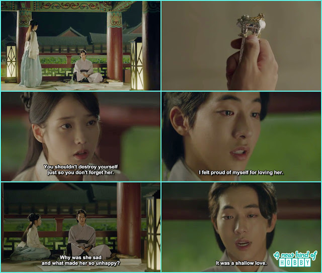 hae soo console baek ah over woo hee death - Moon Lovers Scarlet Heart Ryeo - Episode 19