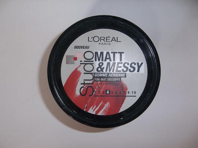 Gomme Aérienne Matt & Messy Studio - L'Oréal