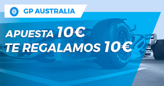 Paston Promoción Fórmula 1: GP Australia 25 marzo