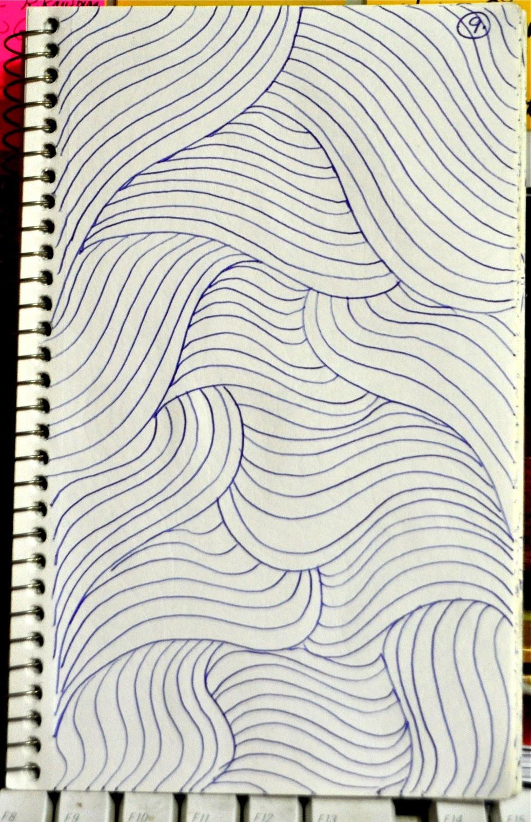 LuAnn Kessi Sketch Book....Background Fillers