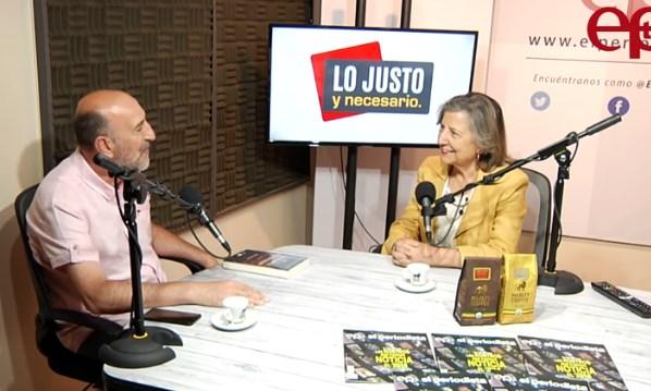 Presidenta del  Colegio de Periodistas analiza el estado del periodismo hoy