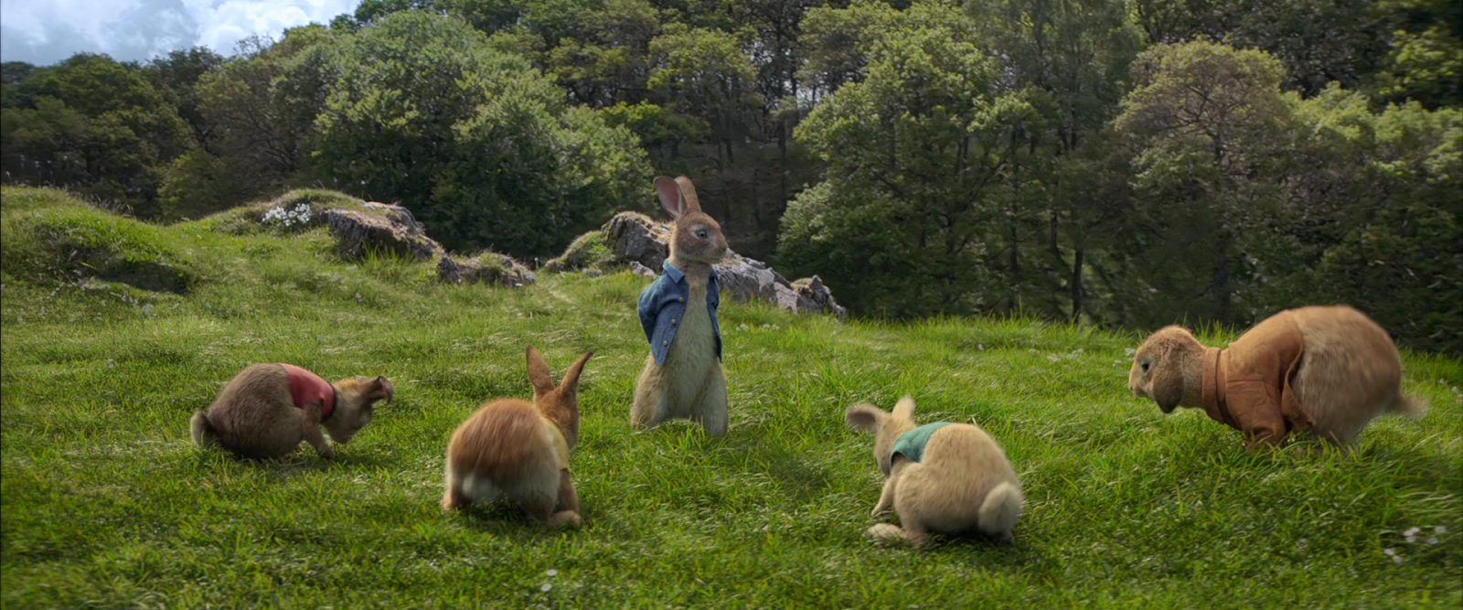 Las Travesuras de Peter Rabbit (2018) BRRip 720p Latino-Ingles captura 3