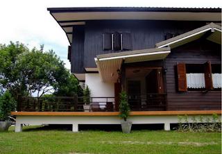 Inspirasi Desain Rumah Setengah Kayu Full Eksterior dan Interior