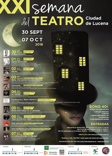 XXI Semana del Teatro de Lucena