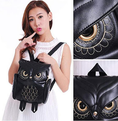 Owl Cartoon Backpack