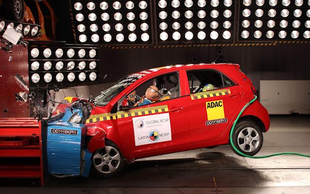 Kia Picanto 2017 - teste