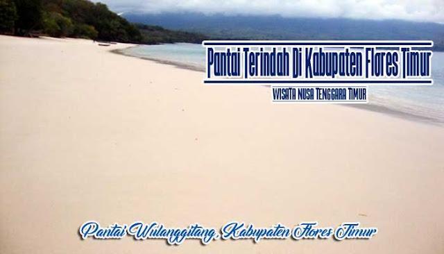 Pantai Terindah Di Kabupaten FloresTimur