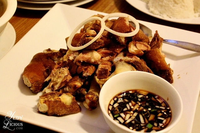 Crispy pata at Skylight Hotel Palawan Best Restaurants in Puerto Princesa Palawan Philippines YedyLicious Manila Food and Travel Blog