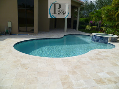Travertine Pavers Alluring Product For Palm Beach