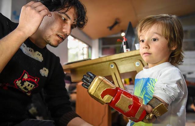 Disabled children's superhero dreams come true
