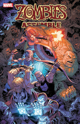 Zombies Assemble #1 (variant cover di Tony Moore)