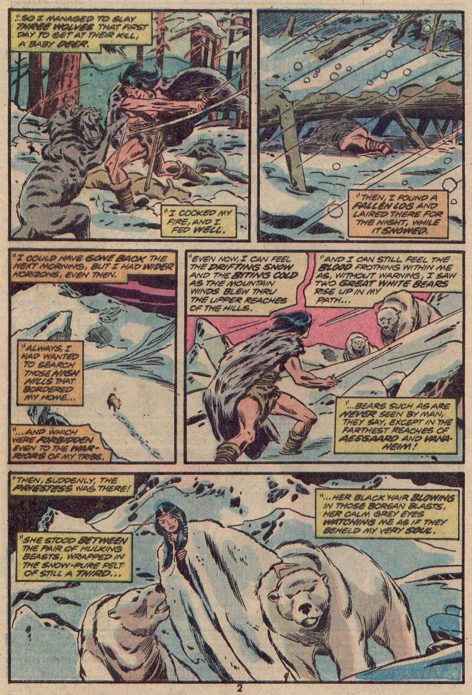 Conan the Barbarian (1970) 48 Page 2