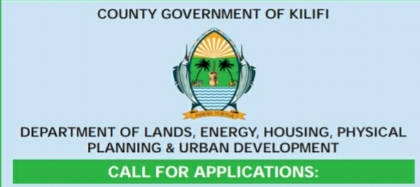 Kilifi county government jobs April 2019