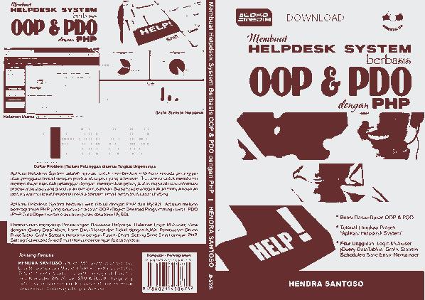 HELPDESK SYSTEM BERBASIS OOP DAN PDO DENGAN PHP