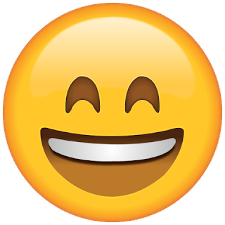 Whatsapp Smiling with Smiling Eyes large Emoji