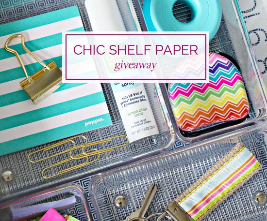 chic shelf paper