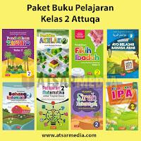 Paket Buku Pelajaran Kelas 2 Attuqa Untuk SD / MI