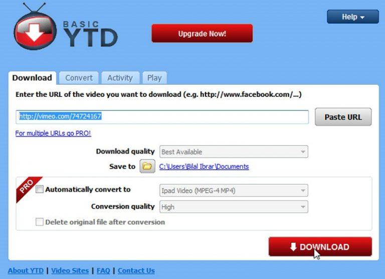 YTD VIDEO DOWNLOADER 5.6 PRO CRACK FULL VERSION
