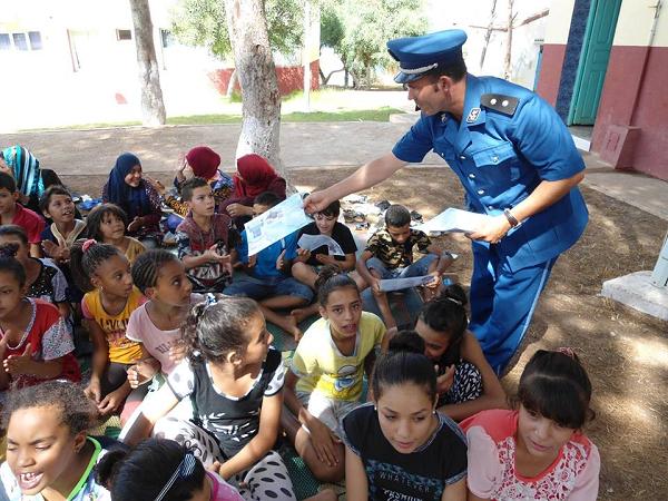 أمن الشلف يطلق حملة توعوية لتحسيس أطفال المخيمات  من مخاطر الأنترنت
