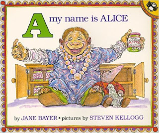 https://www.amazon.com/Name-Alice-Picture-Puffin-Books/dp/0140546685/ref=sr_1_1?s=books&ie=UTF8&qid=1466978082&sr=1-1&keywords=a+is+for+alice#reader_0140546685