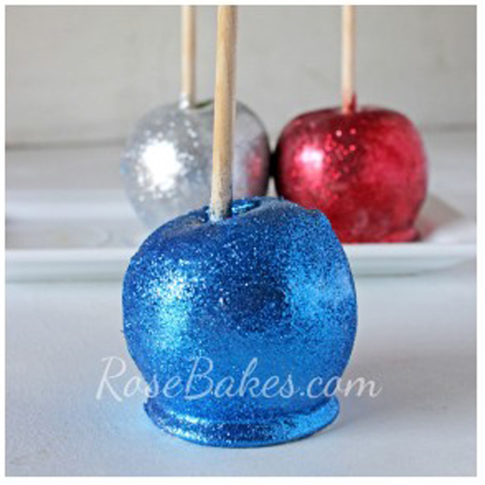 Red, White, and Blue Apples