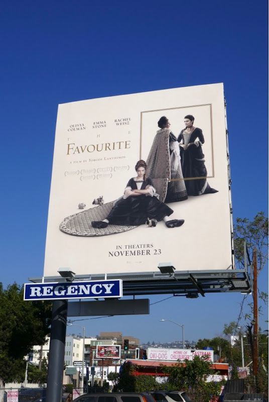 Favourite film billboard