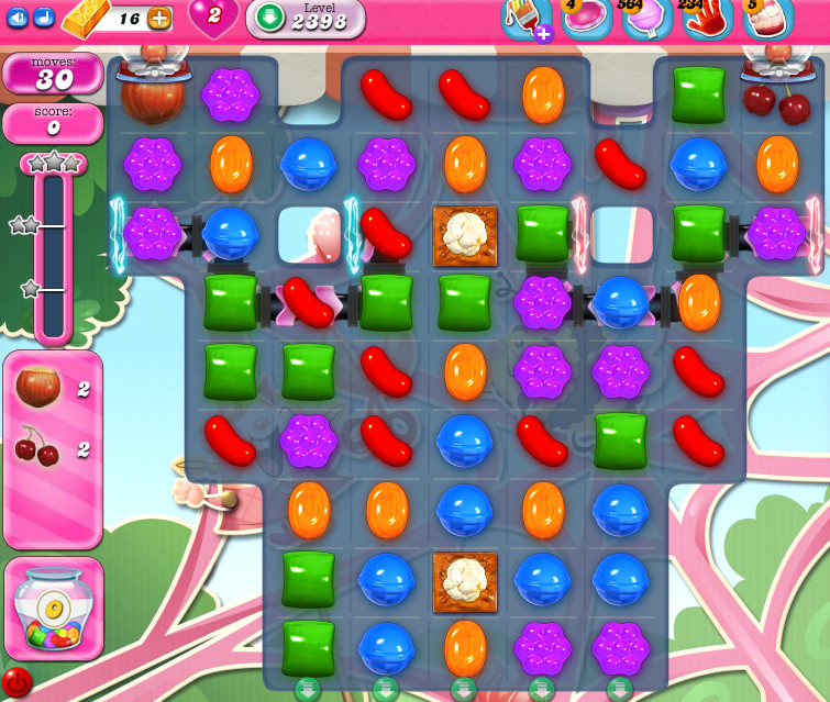 Candy Crush Saga level 2398