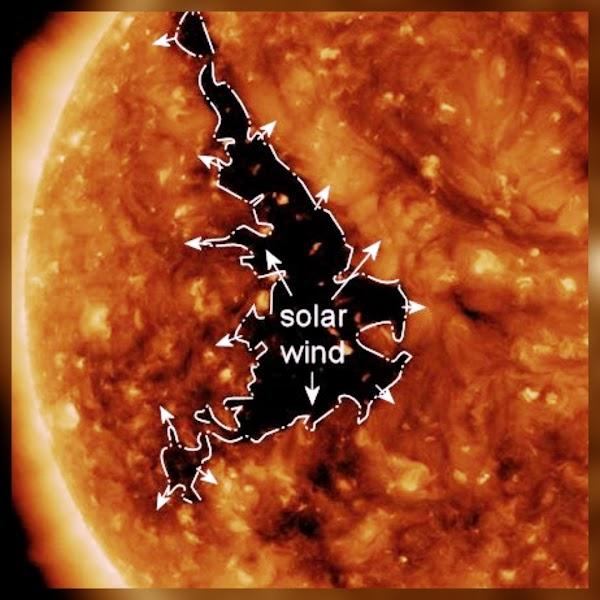 ALERTAS: enorme hoyo coronal provocará viento solar hacia la tierra.
