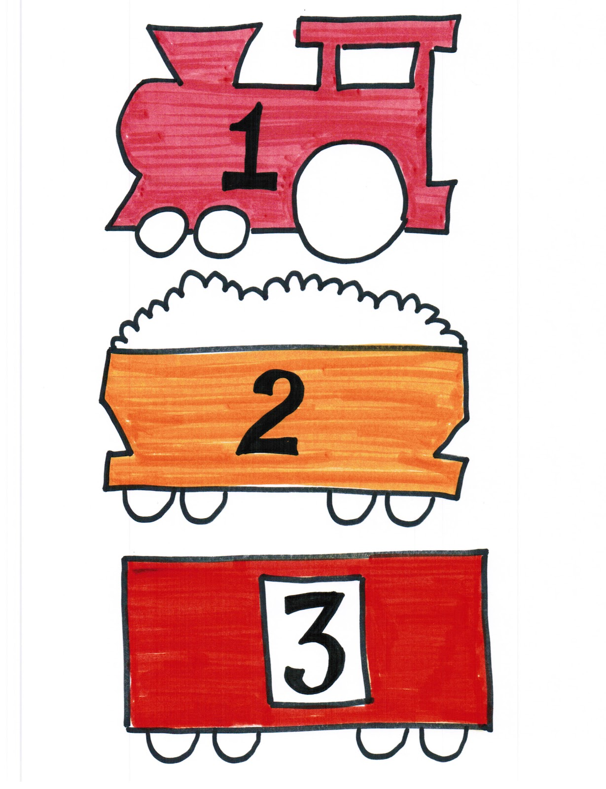 Puddle Wonderful Learning Preschool Activities Choo Choo