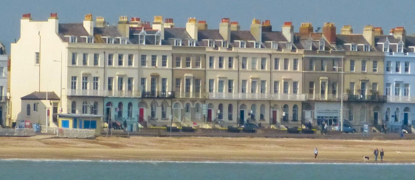 Part of Weymouth Esplanade
