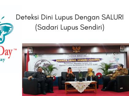 Deteksi Dini Lupus Dengan SALURI (Sadari Lupus Sendiri)