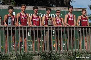 Chiles boys cross country