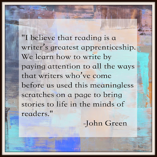 Great Quotes About Writing from John Green