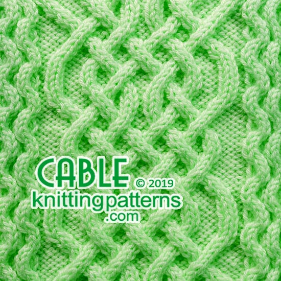 7eb2738fa Cable Knitting Pattern 47 - Cable Knitting Patterns