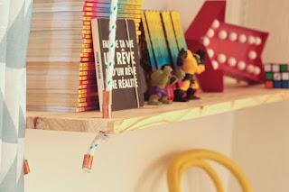 DIY: Estantería biblioteca colgante. www.soyunmix.com