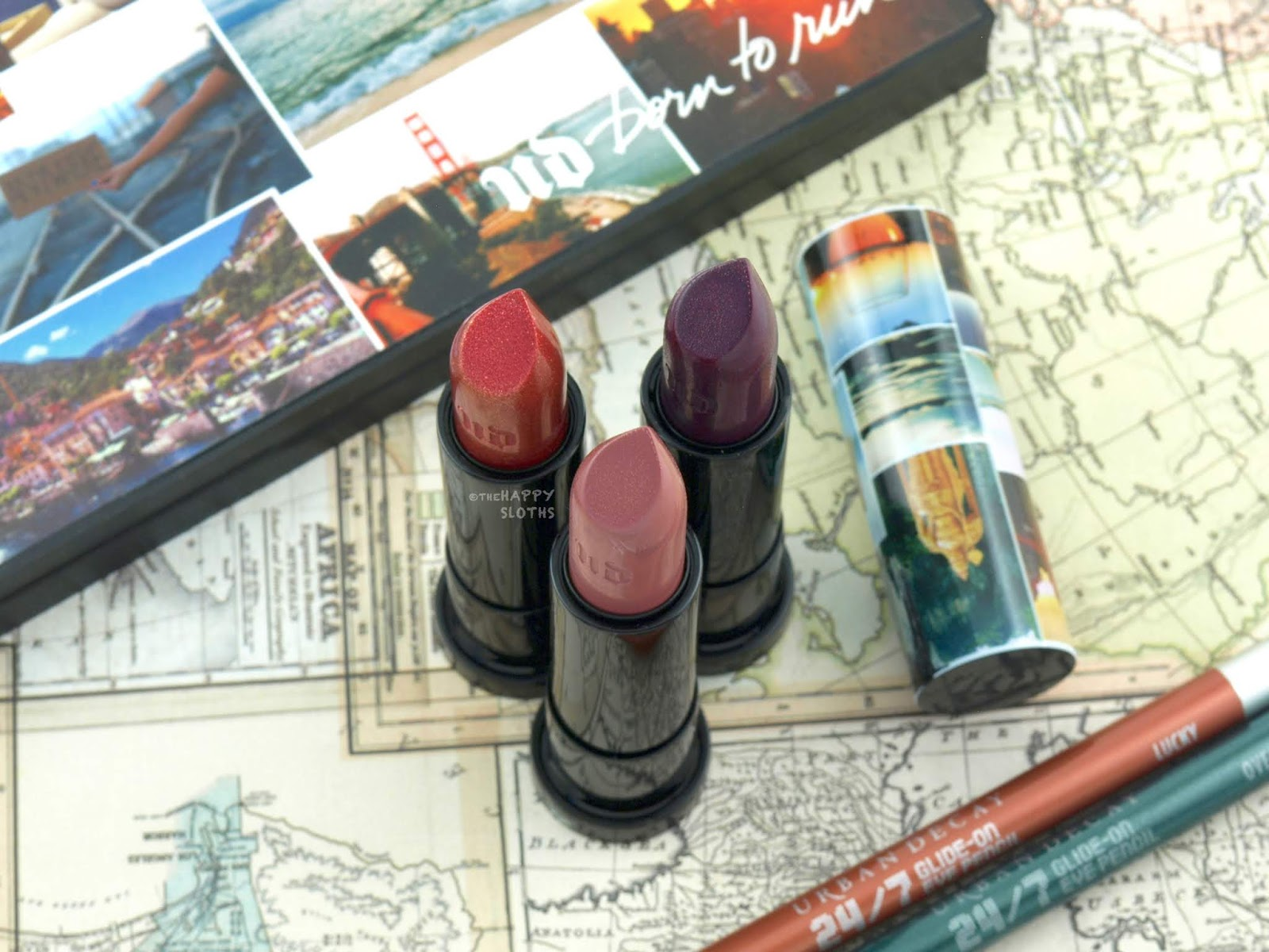 Urban Decay | Born to Run Vice Lipstick: Review and Swatches