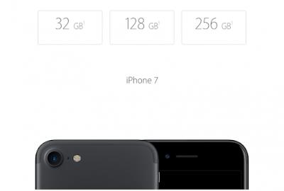 iPhone 7 Hafıza