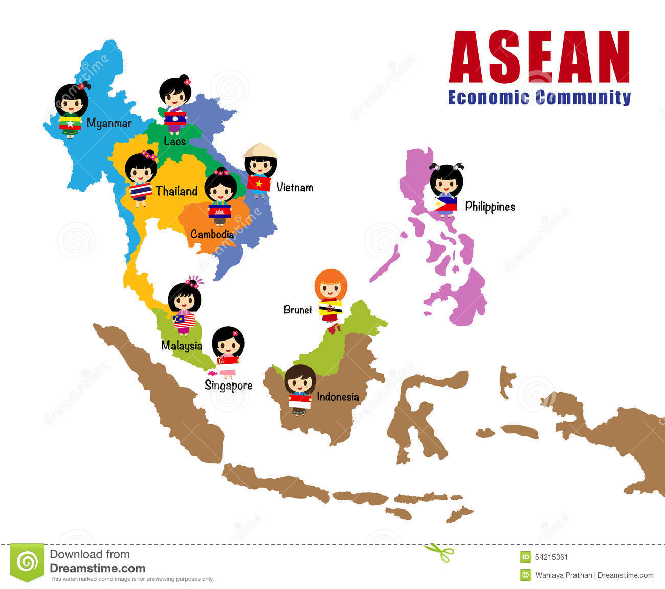 clipart map of cambodia - photo #49