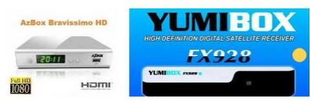 AzBox Bravíssimo em YumiBox Nova Atualização Modificada